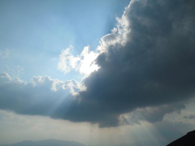 Átmeneti felhőárnyék délután